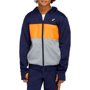 Детски суичър ASICS B BRUSHED FLEECE FZ HOODIE 2034A486.400