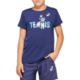 Детска тениска ASICS TENNIS B GRAPHIC T 2044A008.401