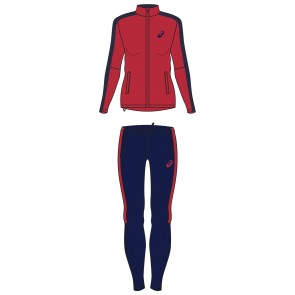 Дамски комплект ASICS AEG VOLLEY LINED SUIT WOMEN OTHER 2052A044.600