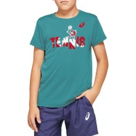 Детска тениска ASICS TENNIS B GRAPHIC T 2044A008.300